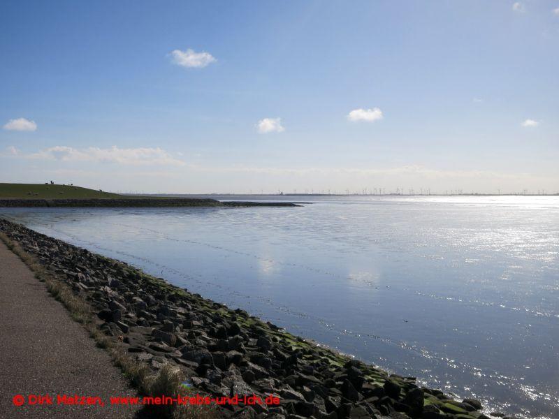 Radweg an der Nordsee