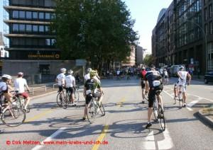 Cyclassics 2015 - Startfeld am Ende