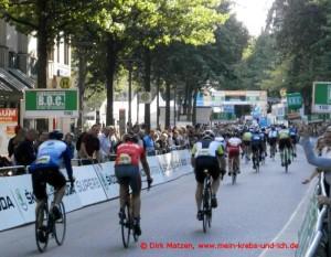 Cyclassics 2015 - Zielankunft 55 km Fahrer