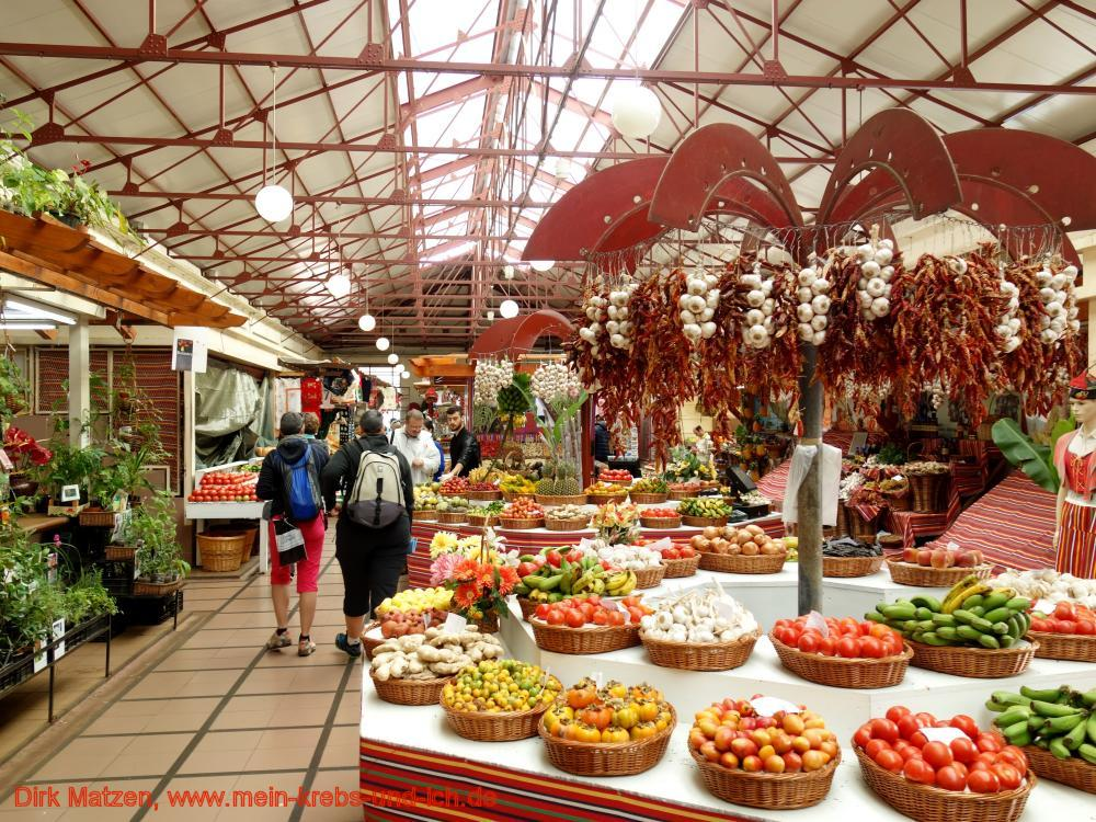 Funchal Markthalle